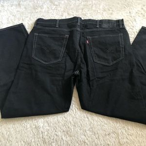 Black Levis jeans 522